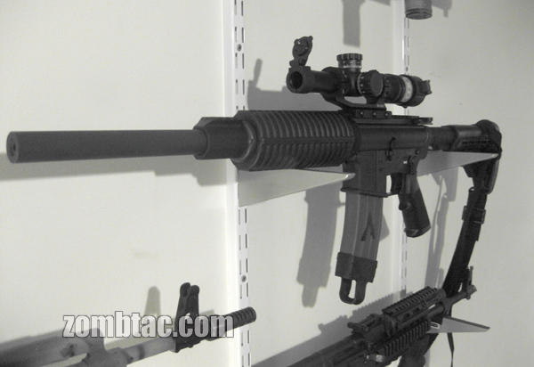 DPMS Lo-Pro Upper on Busmaster Lower