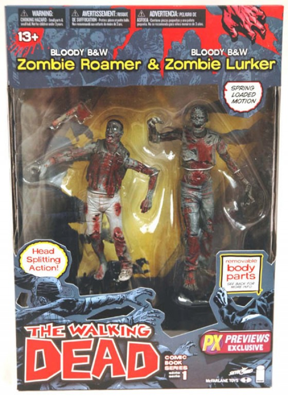 Zombie Toys R Us : Zombtac zombie tactical the walking dead action figures